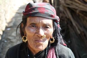 Old Lady Everest Base Camp Trek EBC Trekking Hike Hiking Nepal