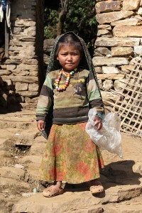Tibetan Child Tsum Valley Trek Trekking Hike Hiking Nepal