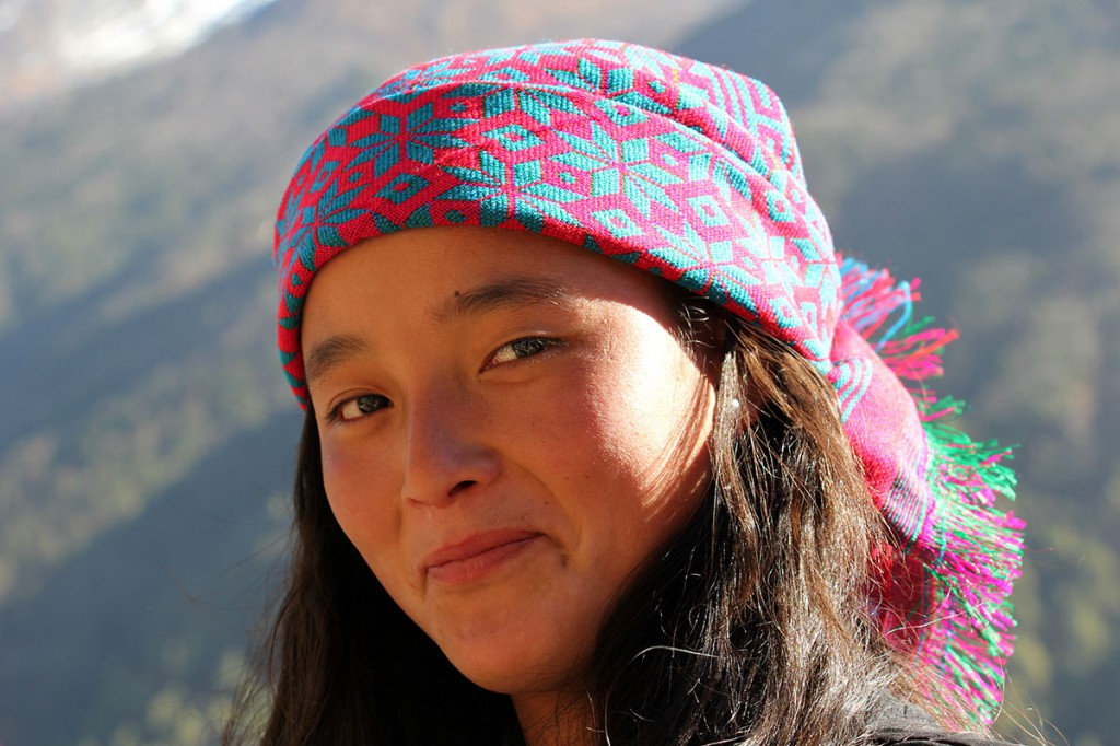 Tibetan Belle Girl Tamang Heritage Trail Trek trekking hike hiking nepal