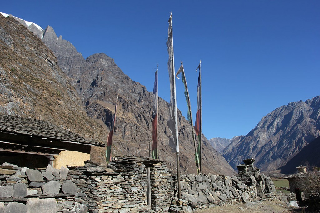 Mani Wall Lower Inner Dolpo Trek Nepal Trekking Hike Hiking Himalayas
