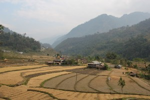 Farmland Annapurna Base Camp Trek ABC Sanctuary Trekking Hike Hiking Nepal