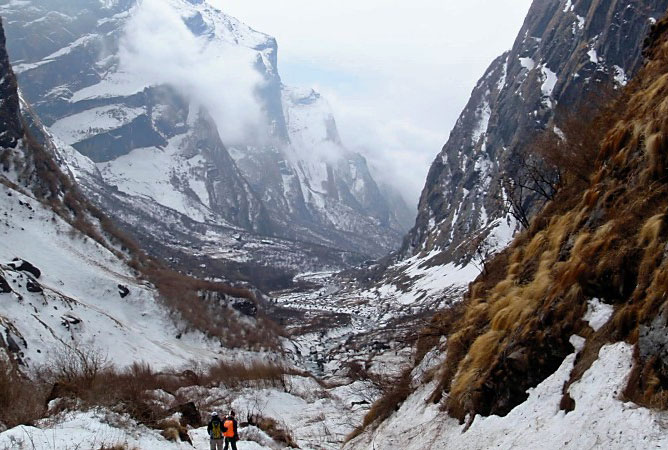 Annapurna Base Camp Trek ABC Sanctuary Trekking Hike Hiking Nepal
