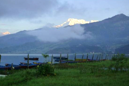 Ghalegaun Trek trekking hiking hike Begnas Lake Nepal