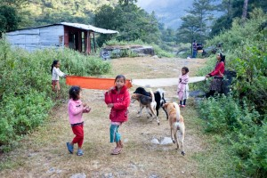 Children Annapurna Circuit Trek Trekking Hike Hiking Nepal