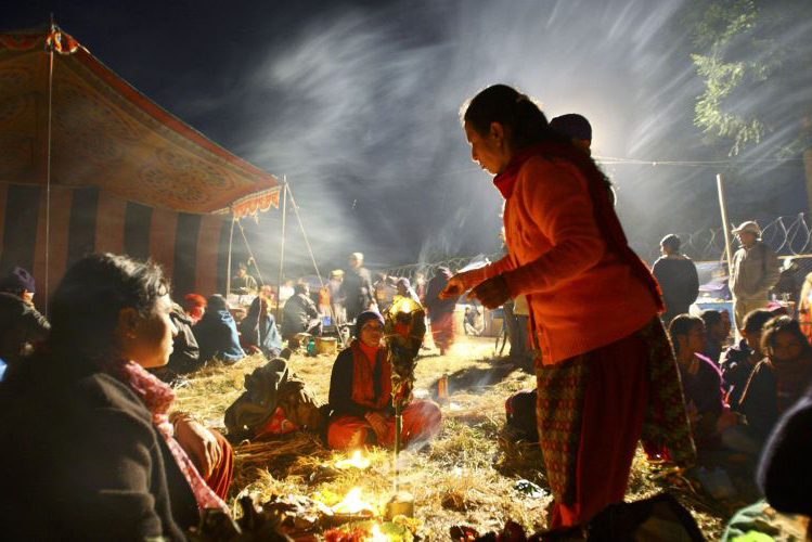Bala Chaturdashi Nepal Hindu Religion Festival Festivals Religious Cultural Tourism Temple