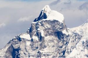 Gauri Sankar Mountain Flight Himalayas Nepal Tourist Airplane