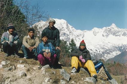 Trekking Trek Hiking Hike Porters Nepal