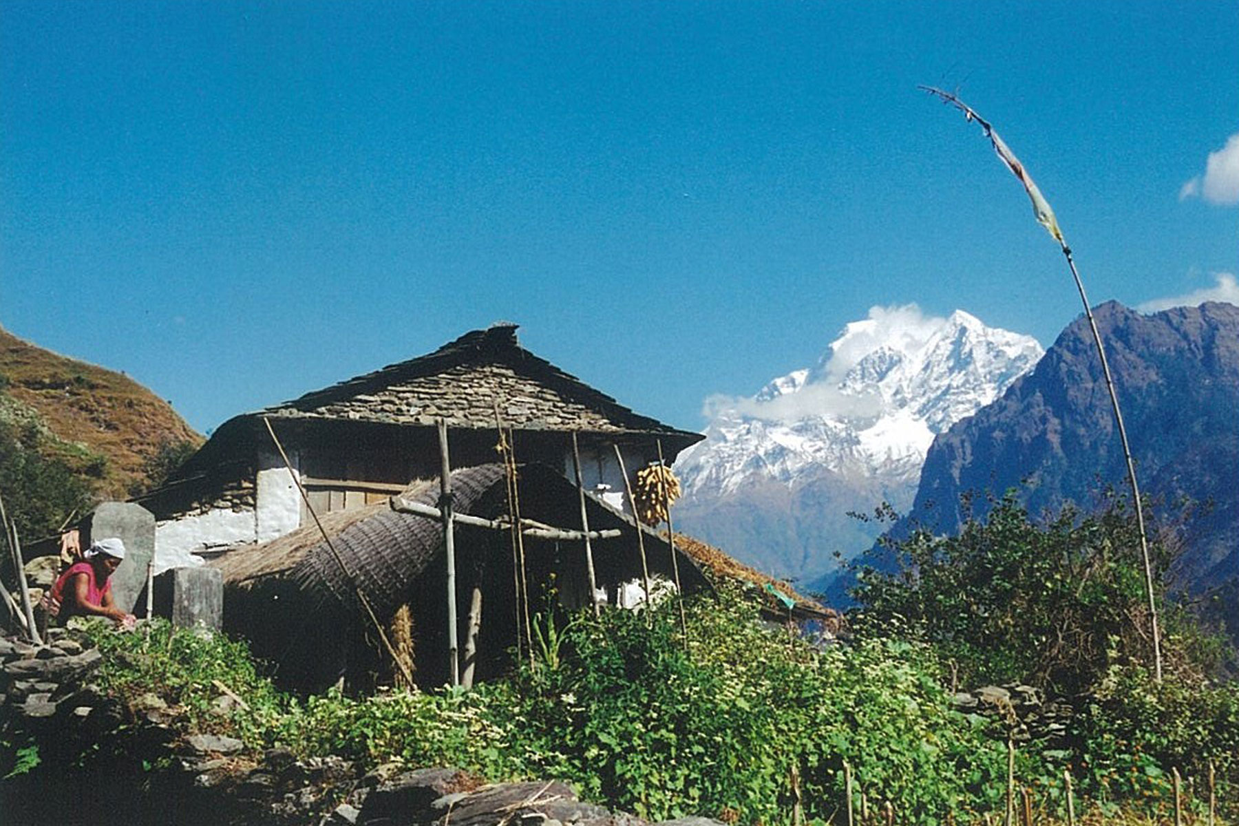 Mountainside Home Panch Pokhari Trek Trekking Hike Hiking Nepal