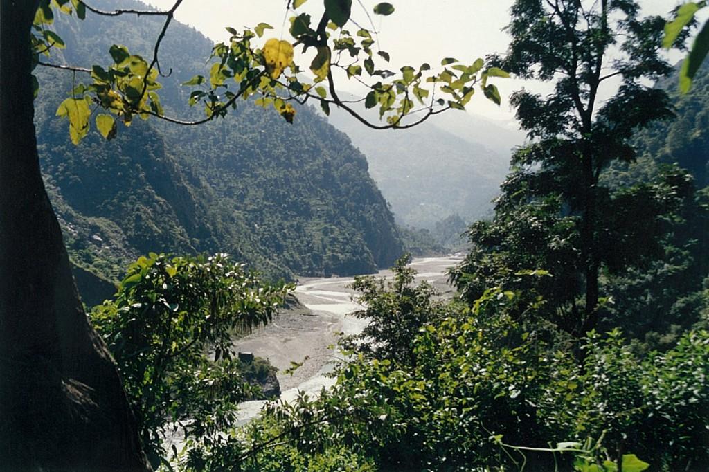 Budhi Gandaki River Manaslu Circuit Trek Nepal Trekking Hike Hiking Himalayas