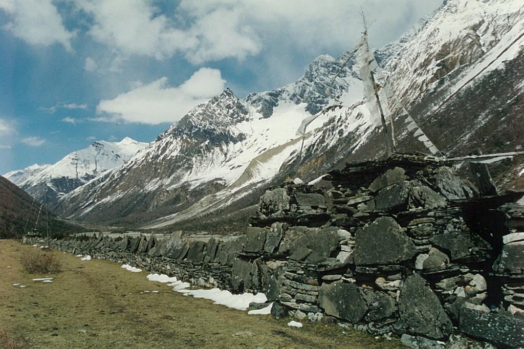 Mani Wall Manaslu Circuit Trek Nepal Trekking Hike Hiking Himalayas
