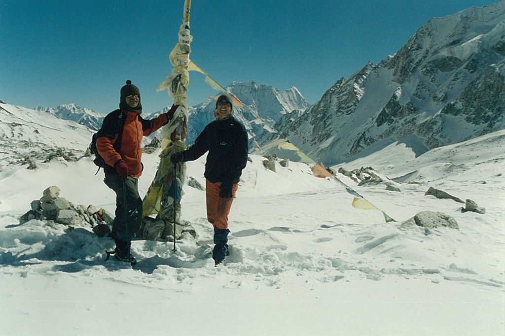 Trekkers Larkya La Manaslu Circuit Trek Nepal Trekking Hike Hiking Himalayas