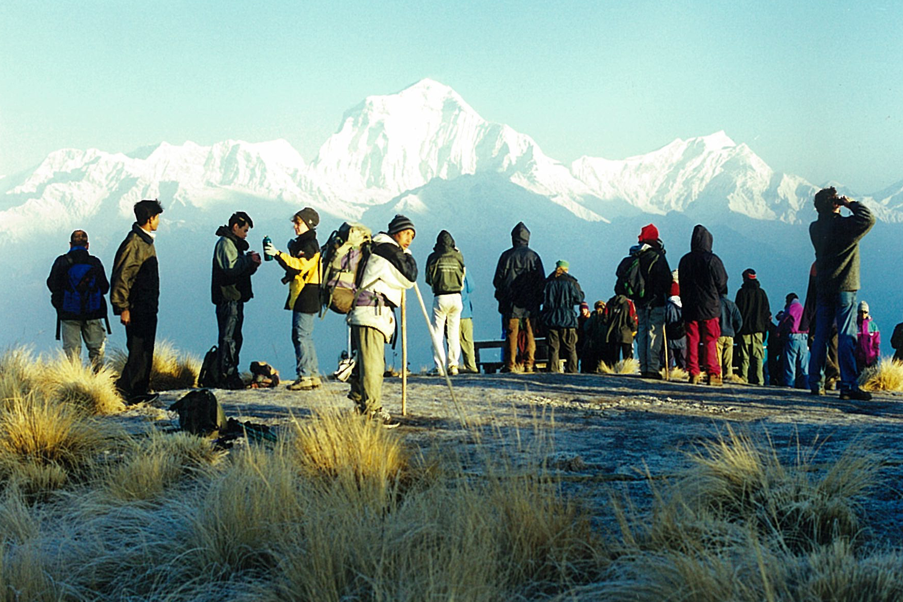 Tourist Hordes Ghorepani Poon Hill Trekking Annapurna Base Camp Trek ABC Sanctuary Hike Hiking Nepal Mountains Himalayas