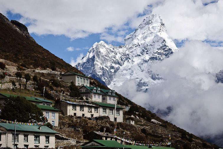 Khumjung Everest Panorama Trek Khumbu Valley Trekking Hike Hiking Nepal