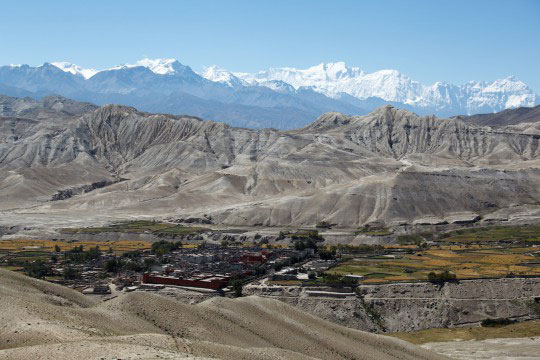 Lo Manthang Upper Mustang Trek Trekking Hike Hiking Nepal