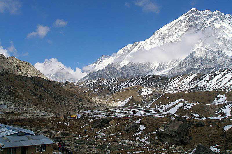 Lobuche Base Camp Far East Trekking Peak Nepal Trek Himalayas Hike Hiking