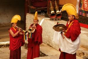 Mani Rimdu Nepal Sherpa Buddhist Religion Festival Festivals Religious Cultural Tourism Temple Dancing Dance Feast