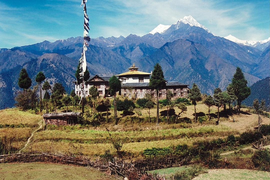 Gompa Mera Trekking Peak Khumbu Valley Trek Nepal Himalayas Hike Hiking