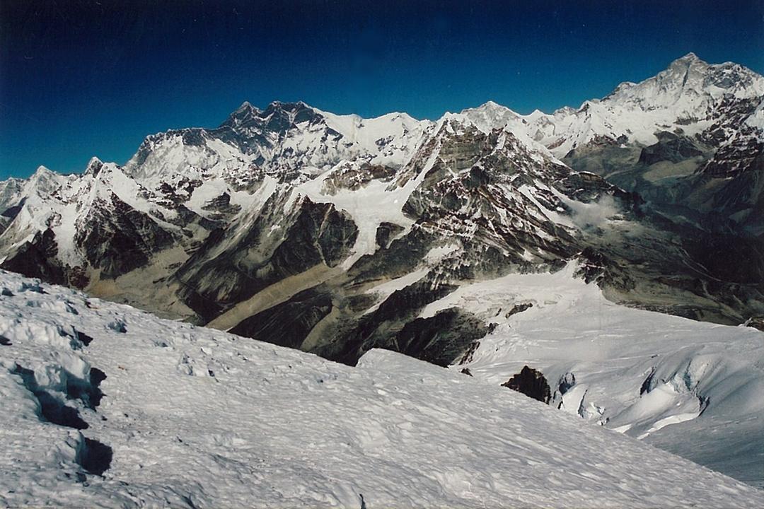 Mera Trekking Peak Summit Hinku Valley Trek Nepal Himalayas Hike Hiking