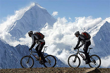 Mountain Biking Bikes Nepal Himalayas