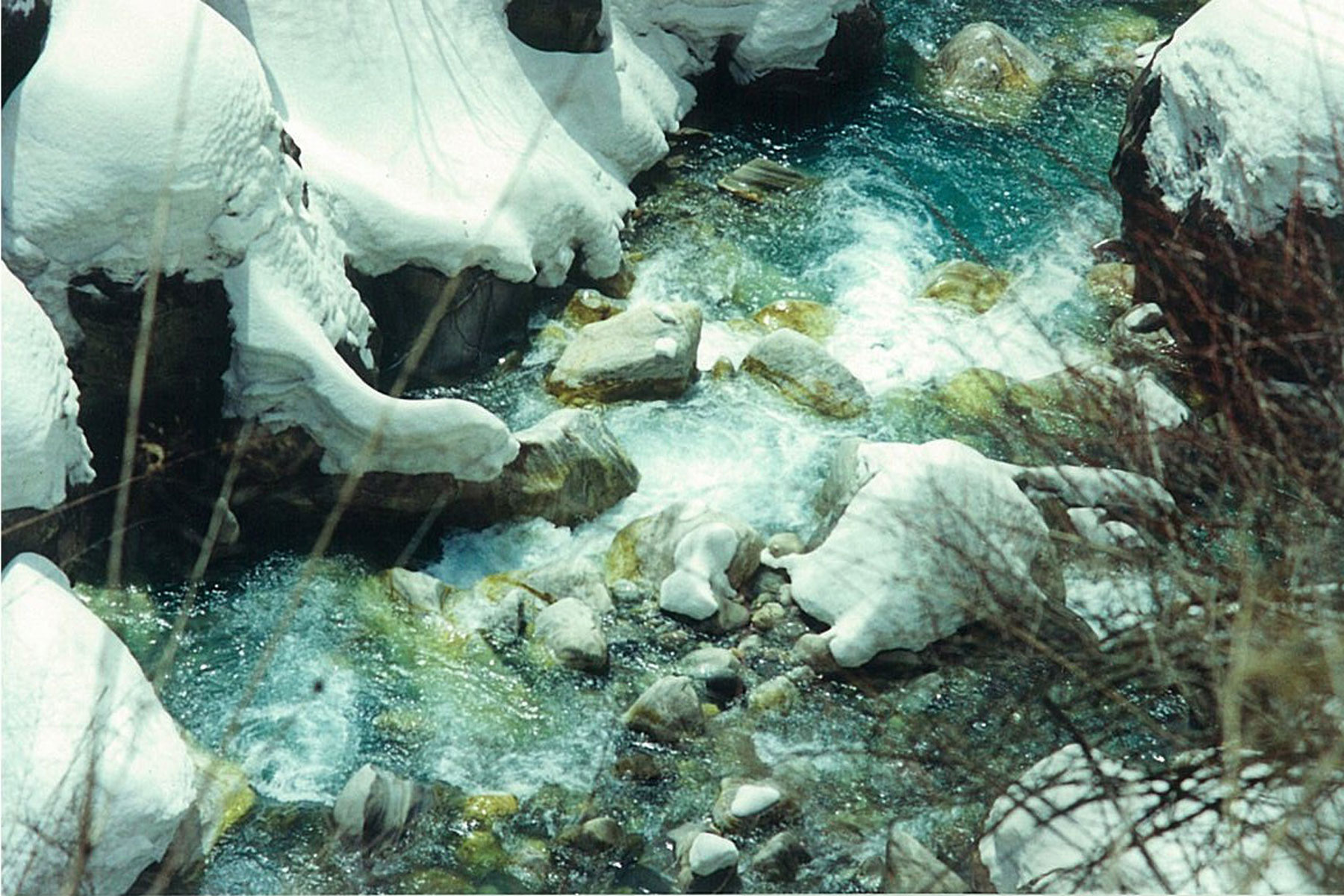 Icy Stream Panch Pokhari Trek Trekking Hike Hiking Nepal