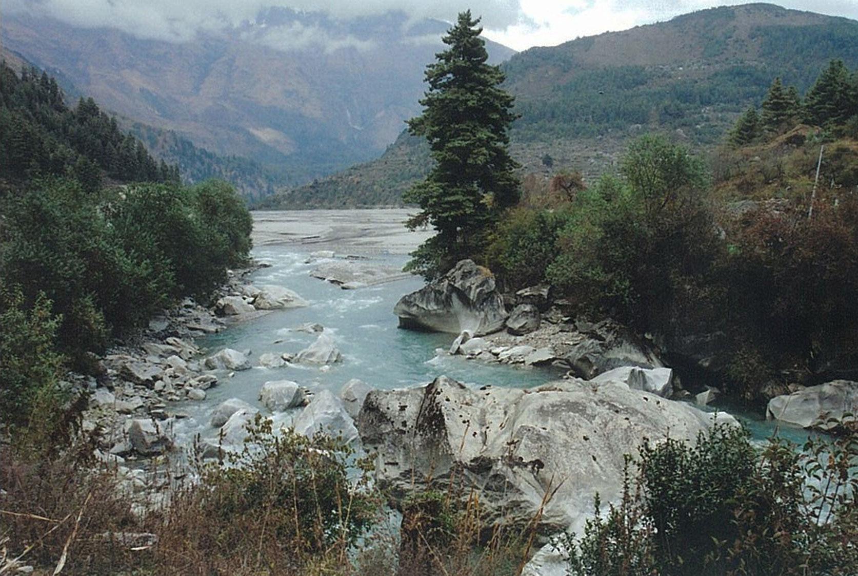 Mountain River Rara Lake Trek Trekking Hike Hiking Nepal