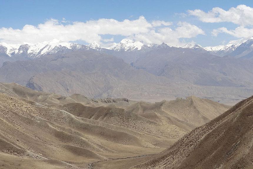 Chogo La Upper Mustang Trek Trekking Hike Hiking Nepal