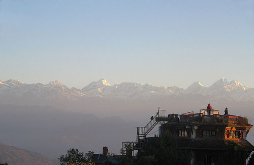 nagarkot Trekking trek hiking hike Kathmandu Valley Ridge Nepal