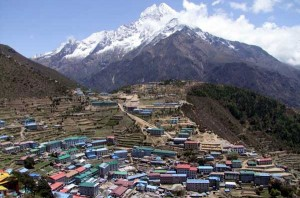 Namche Bazaar Everest Base Camp Trek EBC Trekking Hike Hiking Nepal