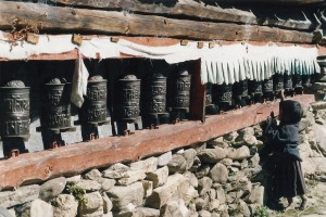 Prayer Wheels Everest Panorama Trek Khumbu Valley Trekking Hike Hiking Nepal