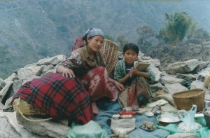 Family Picnic Everest Base Camp Trek EBC Trekking Hike Hiking Nepal