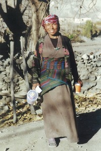 Tibetan Lady Upper Mustang Trek Trekking Hike Hiking Nepal