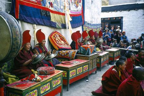 Teechi Nepal Buddhist Religion Tibetan Festival Festivals Religious Cultural Tourism Temple Dancing Dance