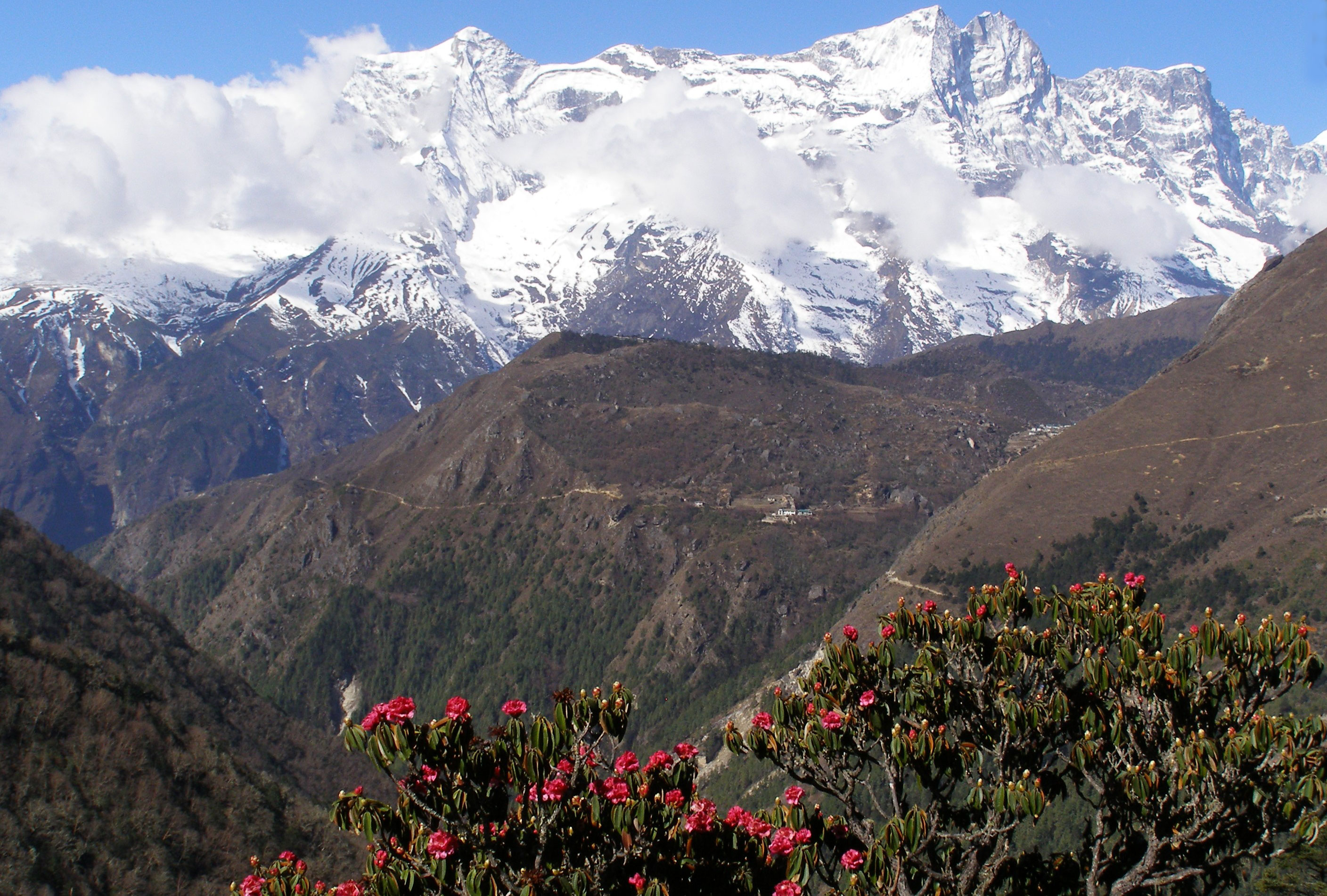 Tengboche Everest Panorama Trek Khumbu Valley Trekking Hike Hiking Nepal