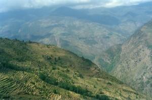 Terracing Annapurna Base Camp Trek ABC Sanctuary Trekking Hike Hiking Nepal