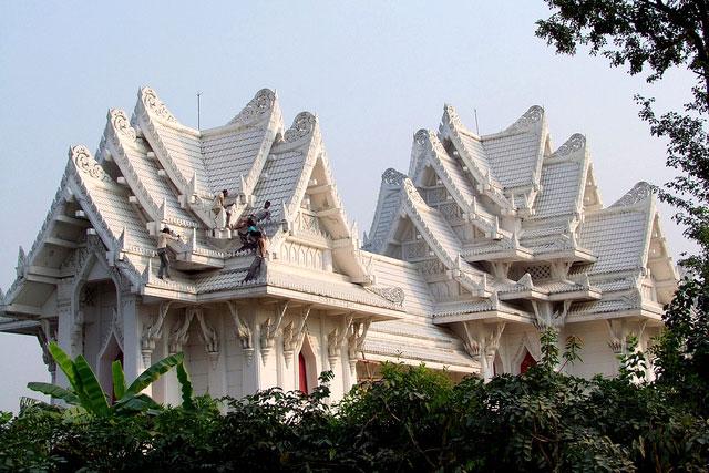 Thai Temple Buddha Lumbini Religion Birthplace Nepal Culture Buddhist Religious Tourism