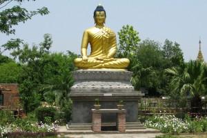 Buddha Statue Lumbini Religion Birthplace Nepal Culture Buddhist Religious