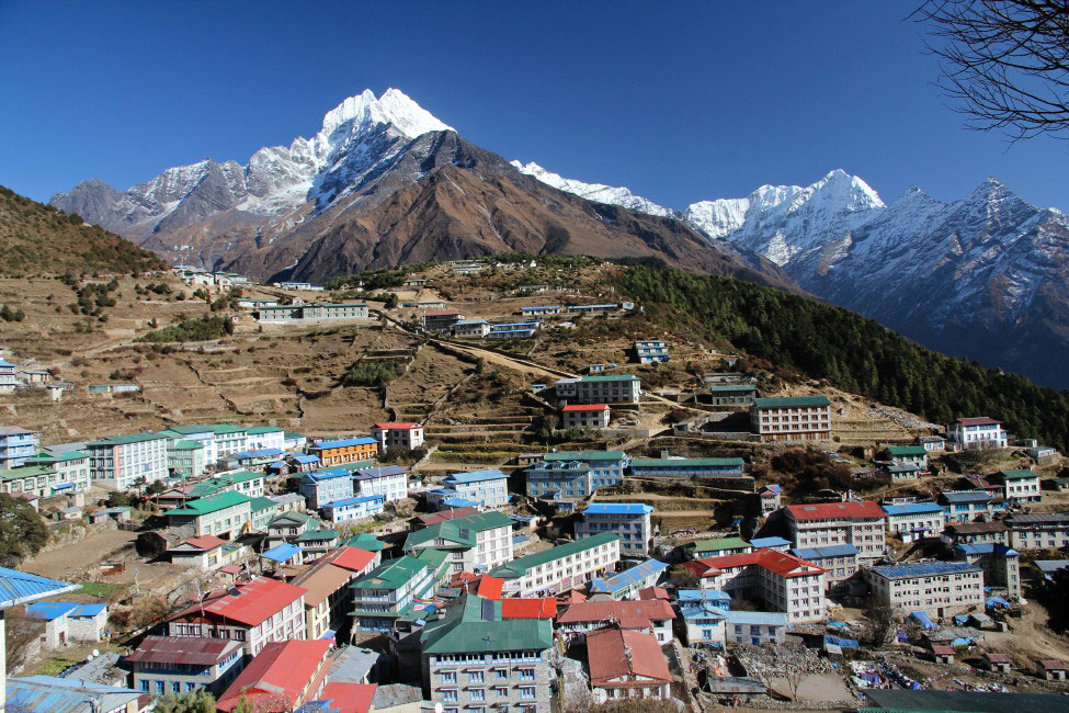 Namche Bazaar 3 Three Passes Trek Everest Base Camp EBC Trek Nepal Trekking Hike Hiking Himalayas