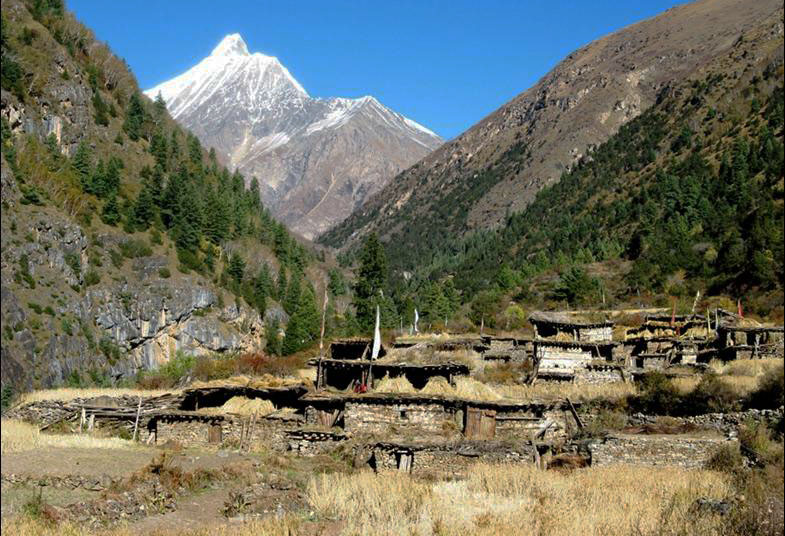 Himalayan Village Lower Inner Dolpo Trek Nepal Trekking Hike Hiking Himalayas